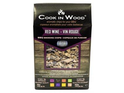 Red wine udící lupínky, 900 g