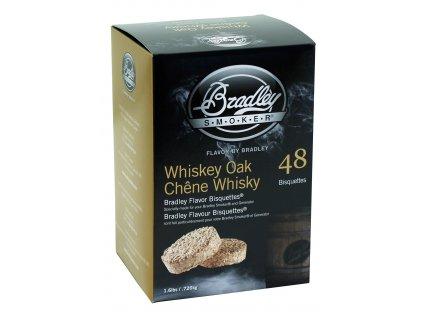 Udící briketky Whisky Oak - 48ks