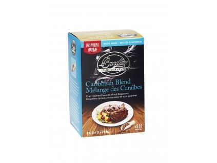 Udící briketky Premium Caribbean Blend - 48ks