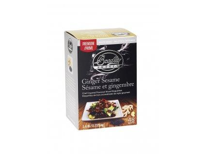 Udící briketky Premium Ginger Sesame - 48ks