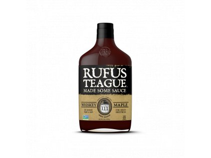 BBQ omáčka Rufus Teague Whiskey Maple, 454 g