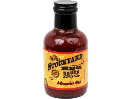 BBQ omáčka Stockyard Memphis Red, 350 ml