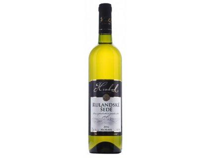 Víno Hrabal Rulandské šedé - pozdní sběr 2016