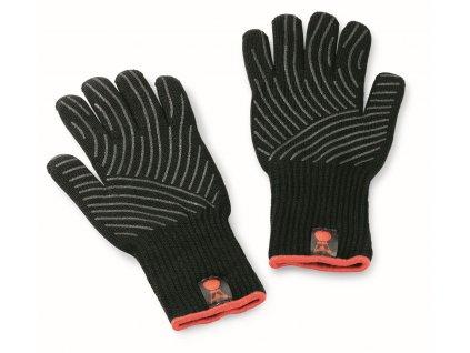Pár žáruvzdorných grilovacích rukavic Premium (L/XL)