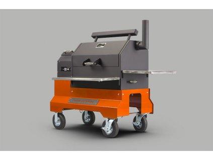 Peletový gril Yoder Smokers YS640s ACS Comp Cart
