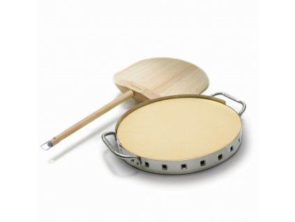 Set pizza kamene a dřevěné pizza lopatky Broil King