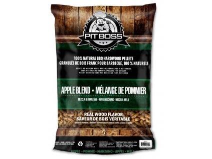 Dřevěné pelety Pit Boss Jabloň, 9 kg