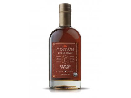 Javorový sirup Crown Maple Cinnamon Infused, 250 ml