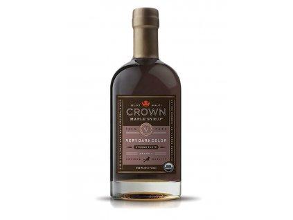 Javorový sirup Crown Maple Very Dark Color, 250 ml