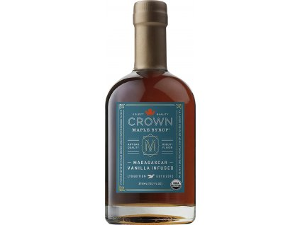 Javorový sirup Crown Maple Madagascar Vanilla Infused, 250 ml