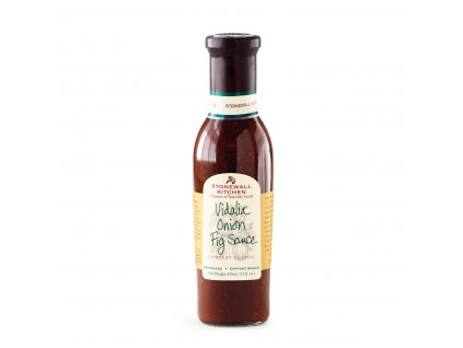 Grilovací omáčka Stonewall Kitchen Vidalia Onion Fig, 330 ml