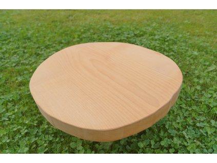 Kruhová krájecí deska 35 cm - javor