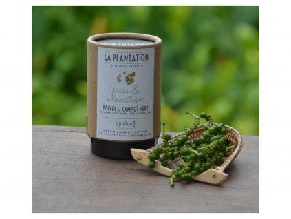 Kampotský pepř zelený dehydrovaný 25g