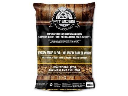 Dřevěné pelety Pit Boss Whisky, 9 kg
