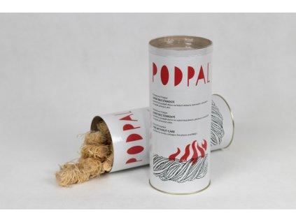 Ekologický podpalovač z dřevité vlny tubus, 40 ks