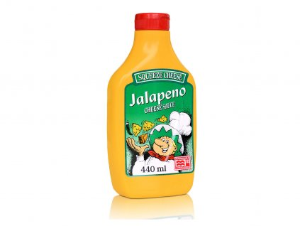 Jalapeno Squeeze Cheese, 440 ml