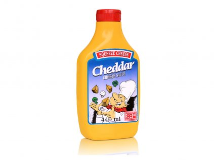 Cheddar Squeeze Cheese, 440 ml