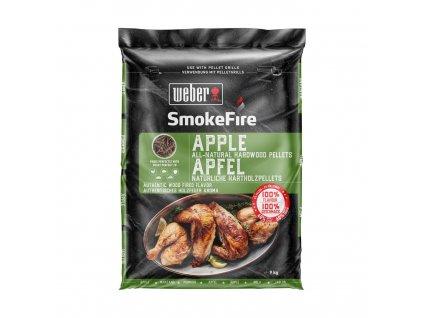Weber SmokeFire dřevěné přírodní pelety – Jabloň, 9 kg