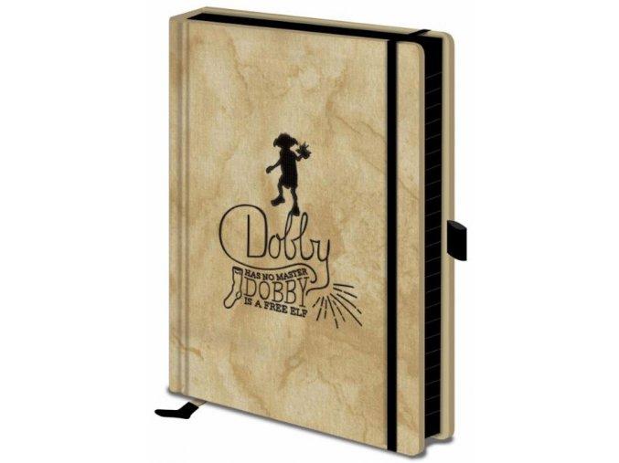 Luxusní zápisník A5 Harry Potter - Dobby
