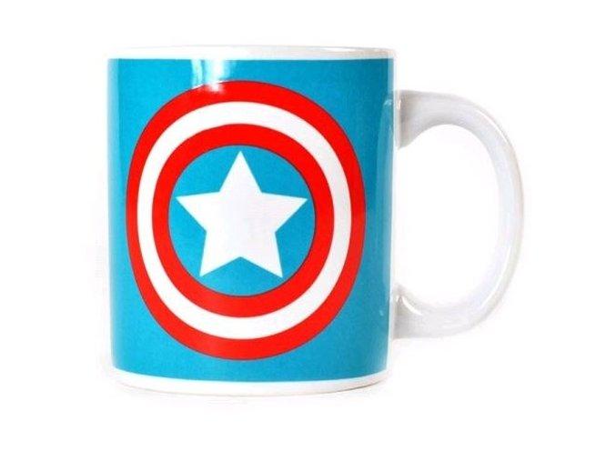 Keramický hrnek Captain America - Logo