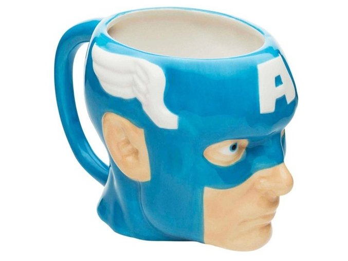 Hrnek Captain America - 3D hlava