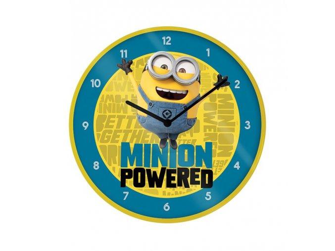 mimoni minions nastenne hodiny minion powered