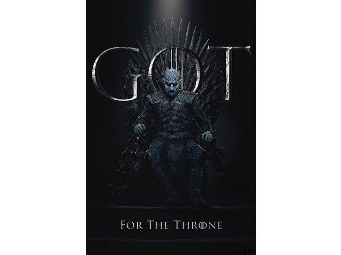 Plakát Hra o trůny - Night King for the Throne
