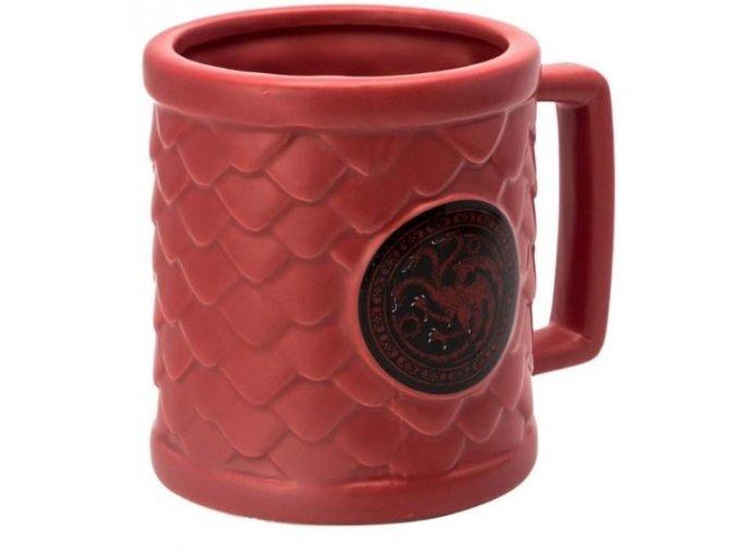 3D Hrnek Hra o trůny - Targaryen