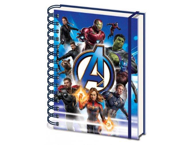 Blok A5 Marvel Avengers - Avengers Unite