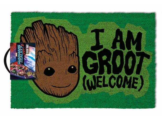 paillasson marvel guardians of the galaxy i am groot 40x60cmaccessoires geek
