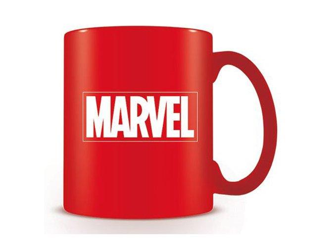 Hrnek Marvel - Logo, červený