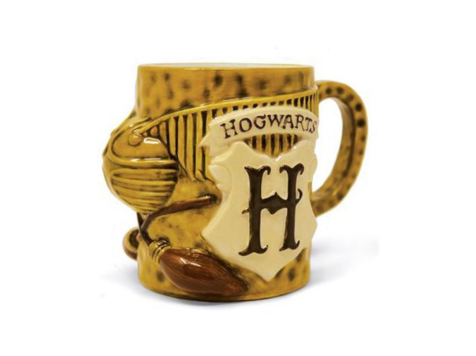 3D Hrnek Harry Potter - Famfrpál