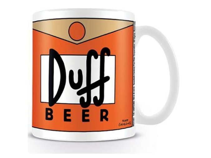 Hrnek Simpsons - Duff Beer