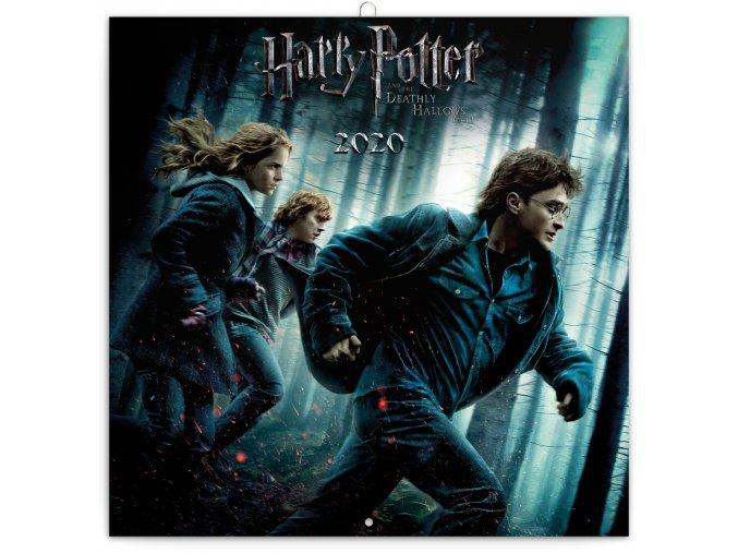 poznamkovy kalendar harry potter 2020 30 x 30 cm 226414 7