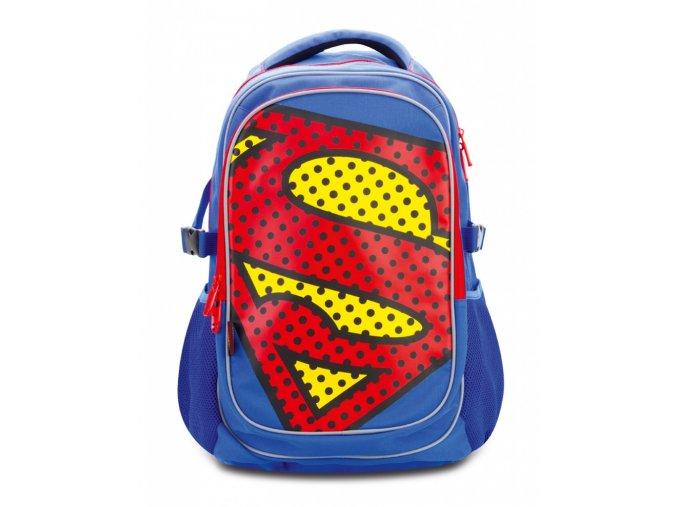 skolni batoh s poncem superman pop 19 1