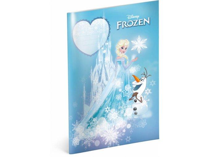 skolni sesit frozen ledove kralovstvi castle a4 40 listu linkovany 1 0
