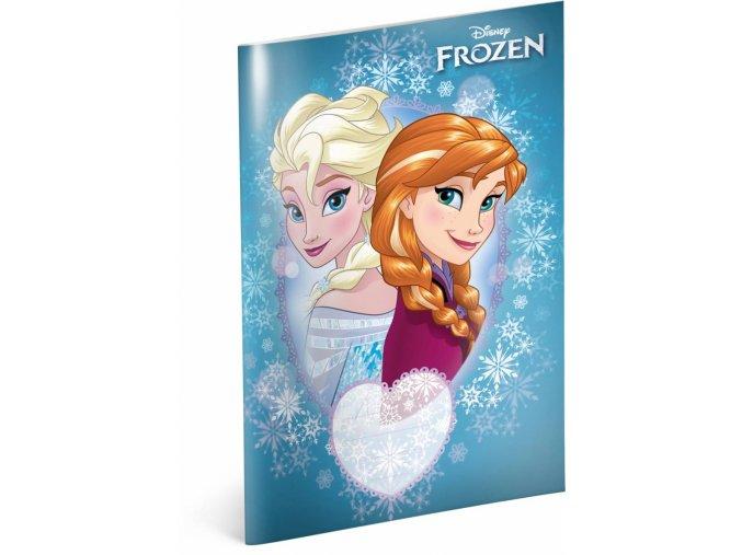 skolni sesit frozen ledove kralovstvi sisters a5 40 listu ctvereckovany 1 1