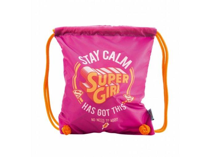 sacek na obuv supergirl stay calm 246113 9