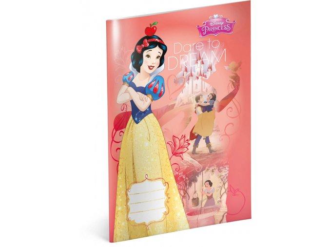 skolni sesit princezny snehurka a4 40 listu linkovany 1