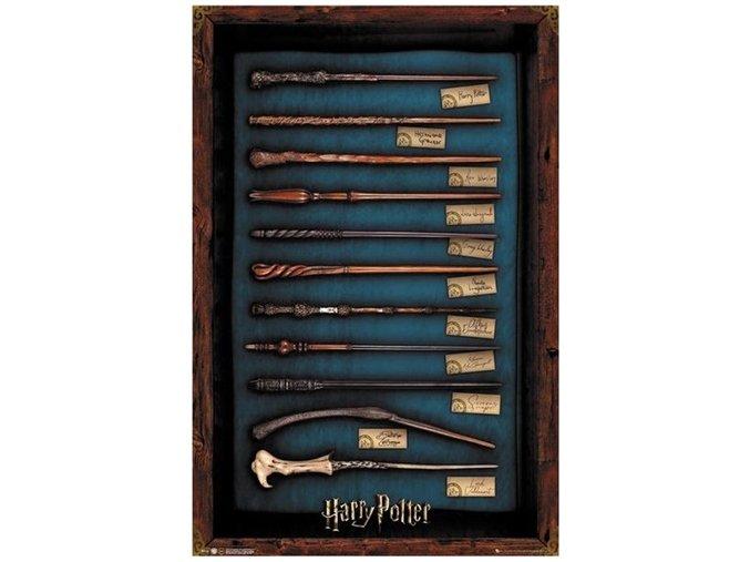 Plakát Harry Potter - Hůlky
