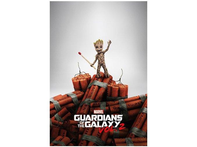 Plakát Strážci Galaxie 2 - Dynamit