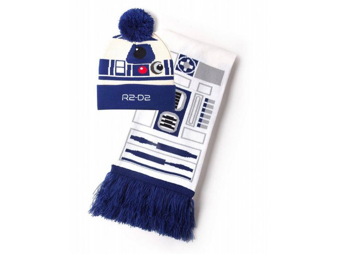 star wars beanie scarf set r2 d2 0 800 700
