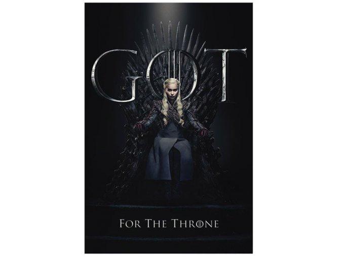 Plakát Hra o trůny - Daenerys for the Throne