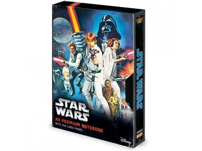 Star Wars blok VHS