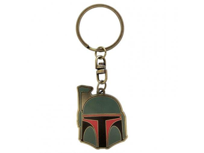 star wars keychain boba fett x4