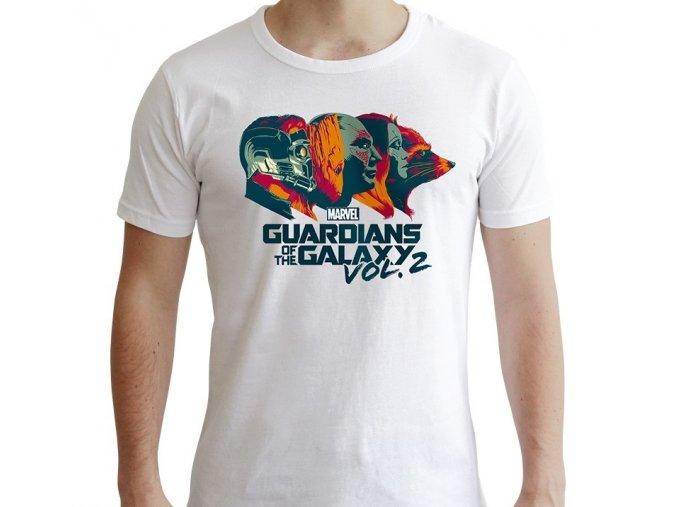marvel tshirt gardiens de la galaxie homme mc white new fit