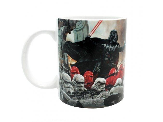 star wars mug 320 ml bataille empire subli avec boitex2