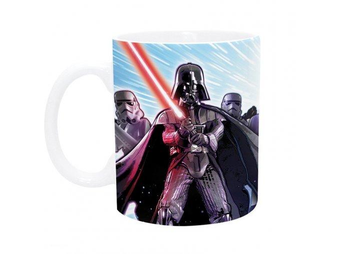 star wars mug 320 ml empire with box x2