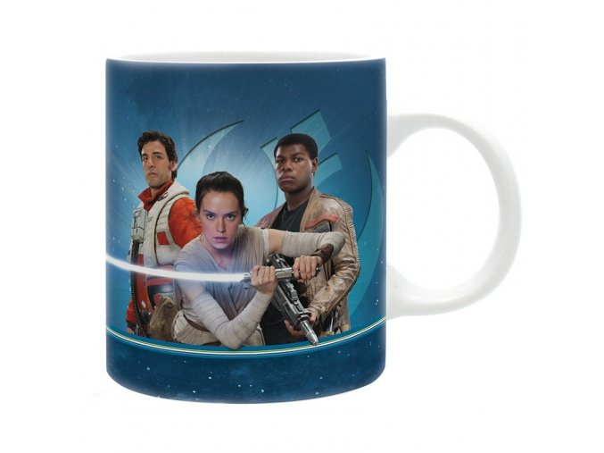 star wars mug 320 ml new resistance subli box x2