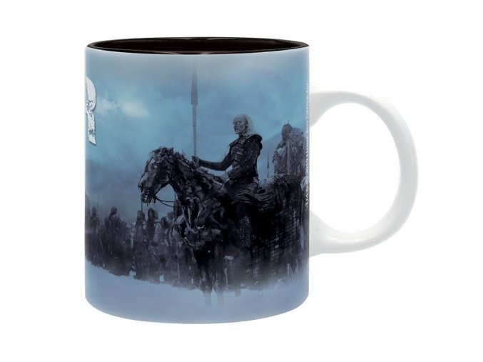 game of thrones mug 320 ml white walkers subli box x2